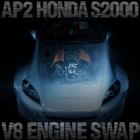 LS1型5.7リッターV8エンジンスワップ!ワイドボディ仕上げ!AP2型ホンダS2000のアメリカ中古車を掲載
