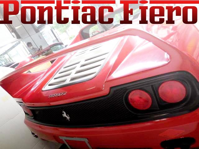限定車フェラーリF50レプリカ仕上げ!ポンティアック・フィエロの国内中古車を掲載