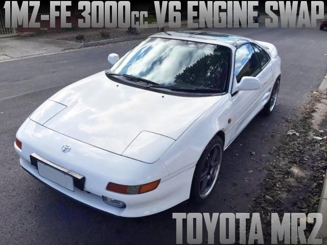 1MZ-FE型3リッターV6エンジン移植!SW20系2代目トヨタMR2のオーストラリア中古車を掲載