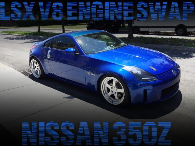 6リッターV8!LSXエンジン搭載!バイパーSRT10用6速MT換装!AEMフルコン制御!Z33日産350Zのアメリカ中古車を掲載