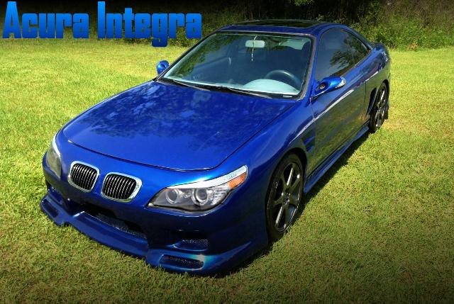 ボディカスタム5代目BMW・5シリーズ仕上げ!スーパーチャージャー装着!DC2型インテグラGS-Rのアメリカ中古車を掲載