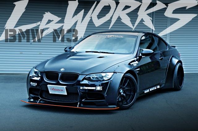 LB☆WORKSオーバーフェンダーワイドボディ!パワークラフトエキゾースト!4代目E92型BMW M3クーペの国内中古車を掲載