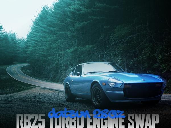 RB25DETターボエンジンスワップ!S30系ダットサン280Zのアメリカ中古車を掲載