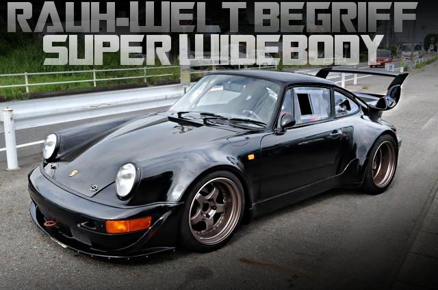 RWBスーパーワイドボディ!ワンオフマフラー!特注ホイール!964型ポルシェ911カレラ2の国内中古車を掲載