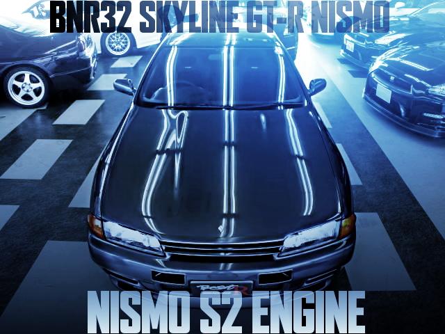 ニスモS2エンジン搭載!エアコン134装備!内装仕上げ!限定車BNR32スカイラインGT-Rニスモの国内中古車を掲載