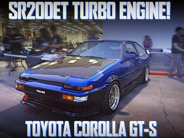 SR20DETターボエンジンスワップ!JDM後期トレノ仕上げ!AE86型カローラGT-Sのアメリカ中古車を掲載