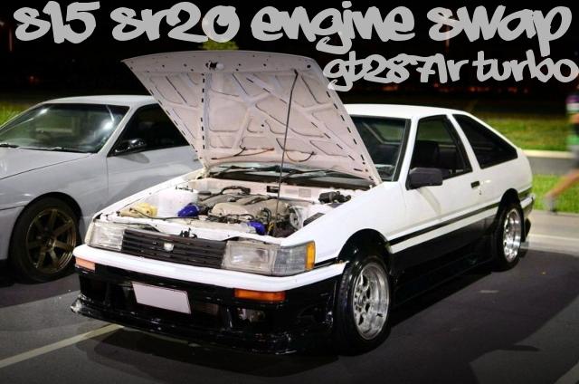 S15用SR20エンジンGT2871Rタービン!AE86レビンのオーストラリア中古車を掲載