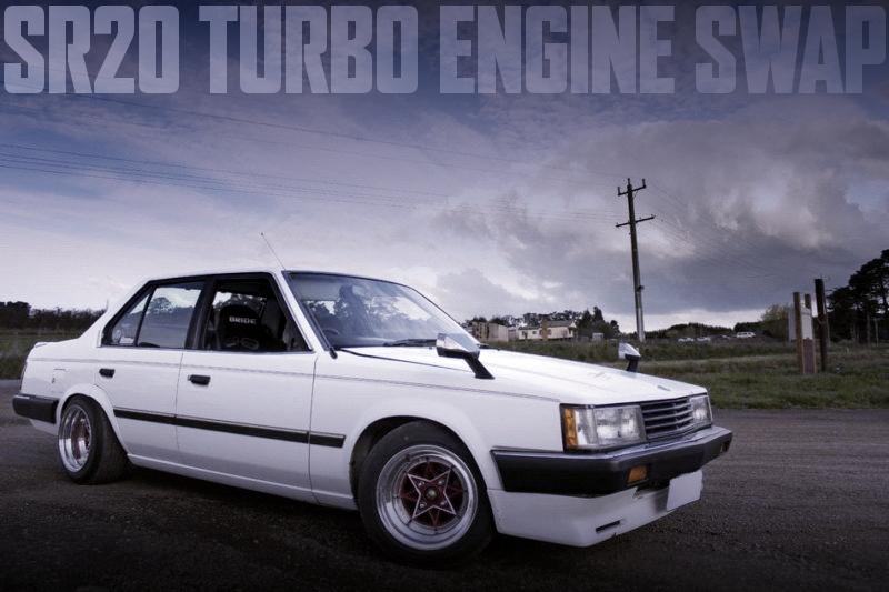 SR20ターボEGスワップRB20用5MT組み合わせ!NISTUNE制御!7代目T140系コロナ4ドアのオーストラリア中古車を掲載