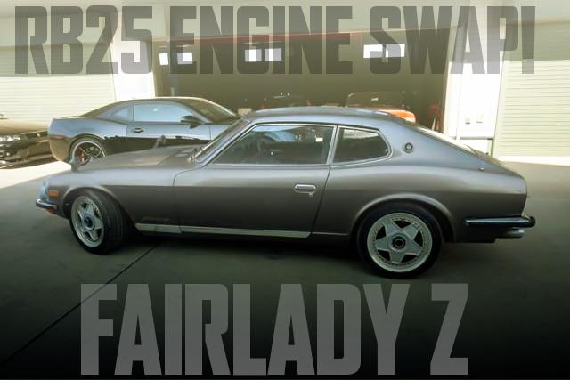 RB25ターボエンジン5速MT公認!パワステ付!2BY2モデル!GS30系フェアレディZの国内中古車を掲載
