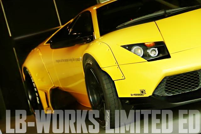 限定20台!LB-WORKSリミテッドEDキット!ランボルギーニ・ムルシエラゴの国内中古車を掲載