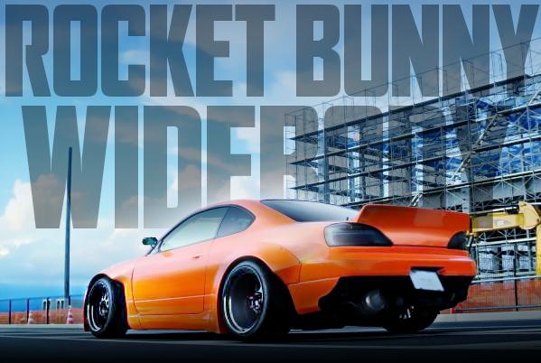 RocketBunnyワイドボディ!レクサスRC-Fオレンジペイント!S15シルビアの国内中古車を掲載