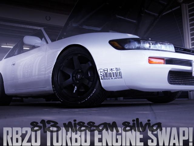 RB20ターボエンジンスワップ!RB20用5速MT組み合わせ!S13日産シルビアのオーストラリア中古車を掲載