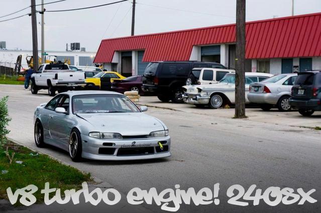 FOXマスタングGT流用Windsorエンジン(302ci)5速MT移植!タービン追加!S14系日産240SXのアメリカ中古車を掲載