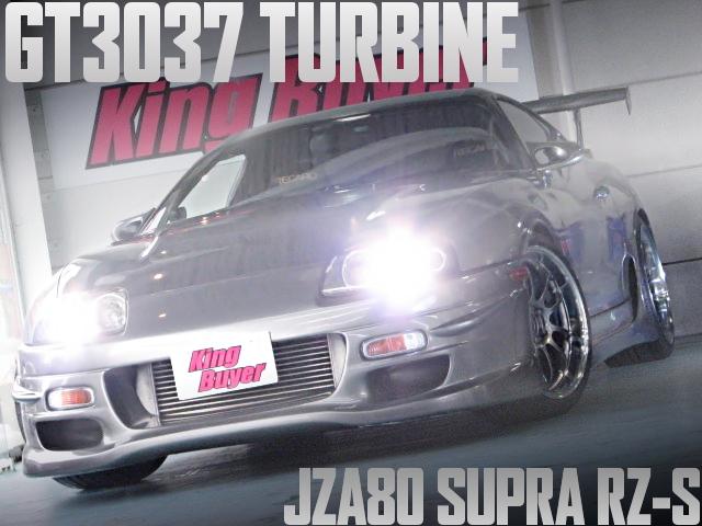 GT3037Sタービン!前エンドレスブレーキ/後ブレンボブレーキ!JZA80型トヨタ・スープラRZ-Sの国内中古車を掲載