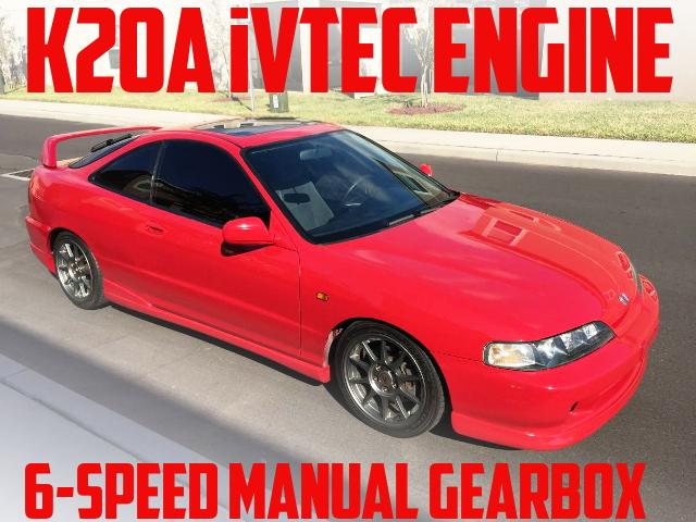 タイプS用K20A型iVTECエンジン6速MT移植!JDMインテグラ顔移植!3代目アキュラ・インテグラGSRのアメリカ中古車を掲載
