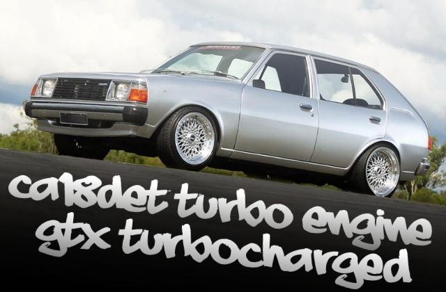 CA18DETターボエンジンスワップ!GTX3037タービン!フルコン制御マツダ323(4代目ファミリア5ドア)のオーストラリア中古車を掲載