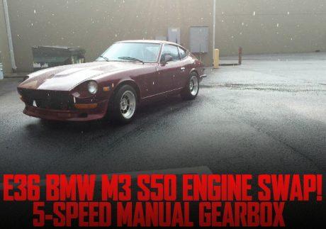 E36系BMW・M3流用S50系3リッター直6エンジン5速MT移植!S30ダットサン240Z(フェアレディZ)のアメリカ中古車を掲載
