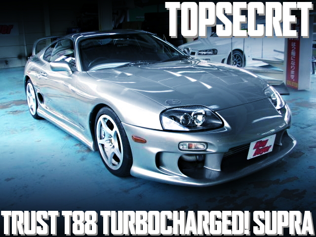 TOPSECRET製作!トラストT88-34DタービンVプロ制御仕上げ!JZA80系スープラRZ-Sの国内中古車を掲載