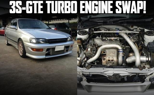 カルディナ用3S-GTEターボエンジン移植!10代目トヨタ・コロナのタイ中古車を掲載