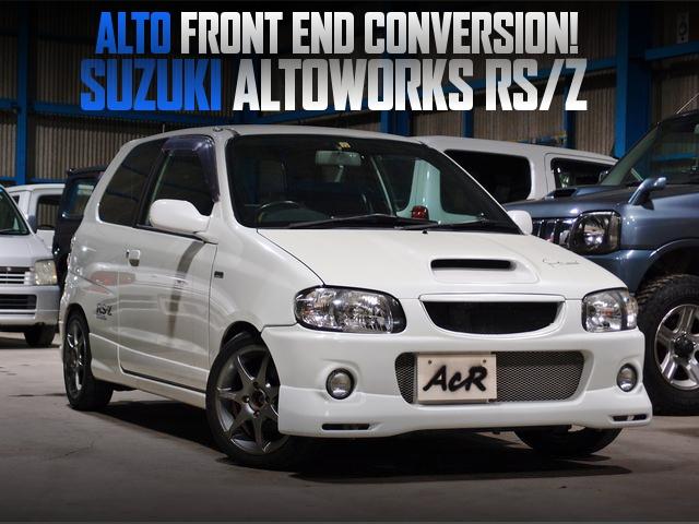 アルト顔面移植仕上げ!HA22S系スズキ・アルトワークスRS/Zの国内中古車を掲載