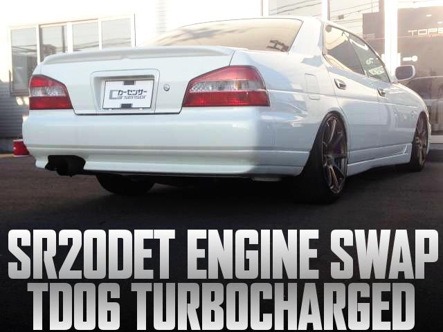 SR20DETエンジン改TD06タービン!POWER-FC制御!5速MT組み合わせ!C35日産ローレルの国内中古車を掲載