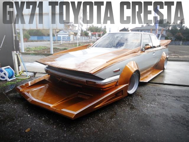 デッ歯&ワークス公認仕上げ!街道レーサー!GX71型クレスタ・スーパールーセントツインカム24の国内中古車を掲載