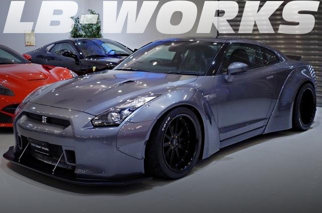 LB-WORKSワイドボディ!イノテック可変バルブマフラー!R35日産GT-Rプレミアムエディションの国内中古車を掲載