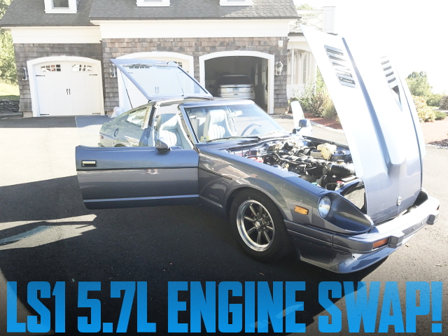 LS1型5.7リッターV8エンジン6速マニュアル仕上げ!S130型ダットサン280ZX(フェアレディZ)のアメリカ中古車を掲載