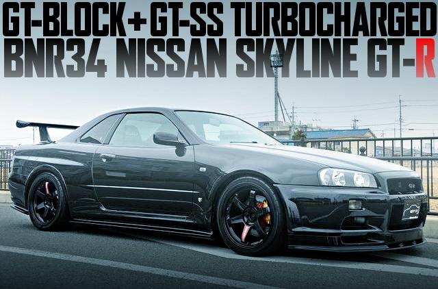 MIDORI整備チューン!GTブロック+GT-SSタービン!BNR34日産スカイラインGT-Rの国内中古車を掲載