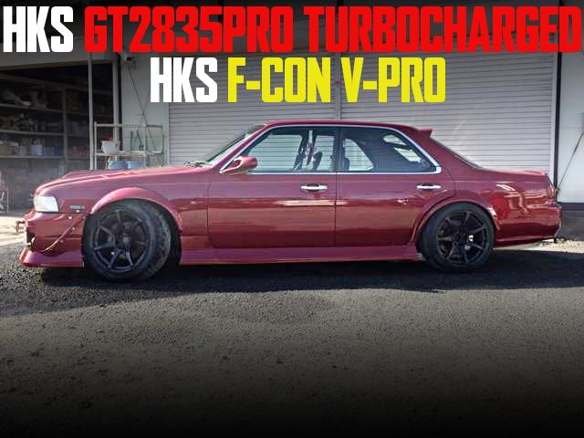 RB25改GT2835PROタービン!金PROエアフロレス制御!C34日産ローレルの国内中古車を掲載