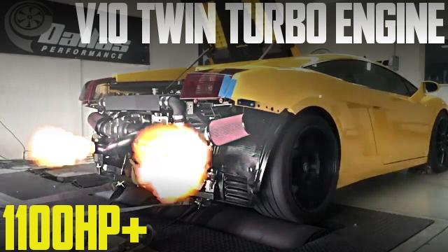 1100馬力!V10エンジン改ツインターボ!ランボルギーニ・ガヤルドのアメリカ中古車を掲載