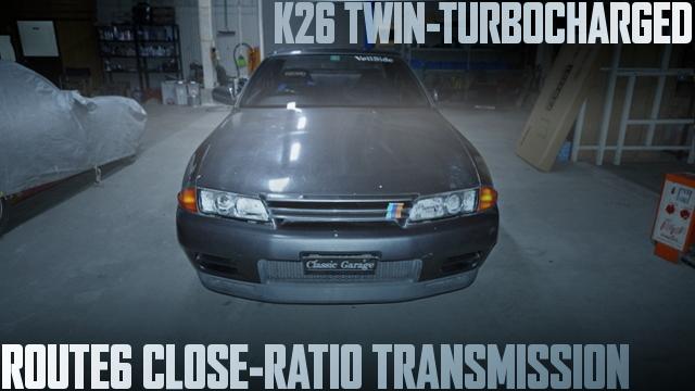 RB26改K26ツインターボ!ルート6クロスミッション!BNR32日産スカイラインGT-Rの国内中古車を掲載