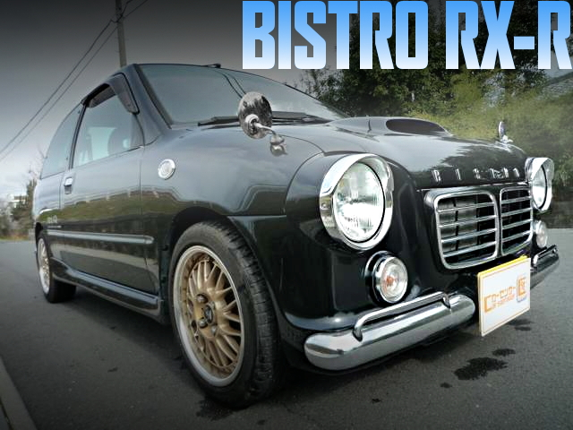 ビストロ仕上げ!フェンダーミラー!スバル・ヴィヴィオRX-Rの国内中古車を掲載