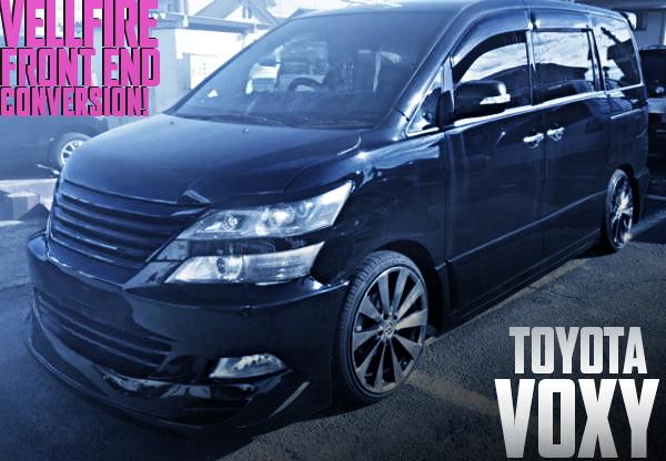ヴェルファイア顔仕上げ!ZR60初代トヨタ・ヴォクシーの国内中古車を掲載