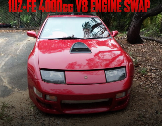 1UZ型4リッターV8エンジンスワップ!ATシフト仕上げ!Z32日産300ZX(フェアレディZ)のオーストラリア中古車を掲載
