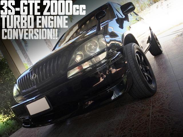 3S-GTE型2000ccターボエンジンスワップ!ブレンボキャリパー!トヨタ初代ハリアーのタイ中古車を掲載