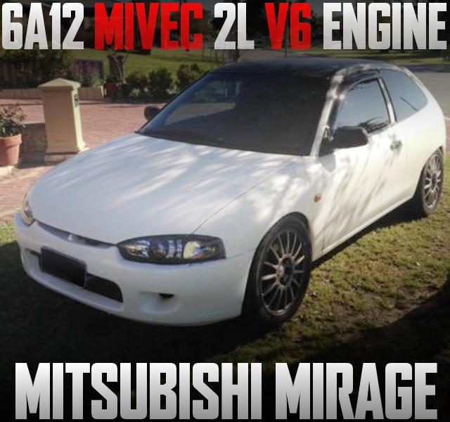 FTO流用!マイベック6A12型2リッターV6エンジン+5速マニュアル移植!5代目三菱ミラージュのオーストラリア中古車を掲載