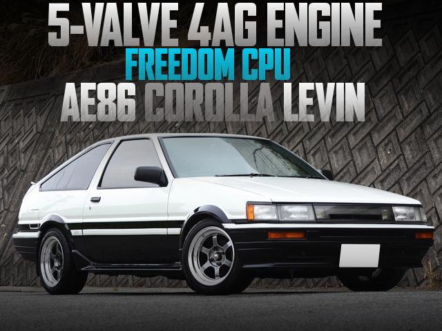 5バルブ4AGエンジン!FREEDOMコンピューター!R134エアコン!AE86型トヨタ・カローラレビンGTアペックスの国内中古車を掲載