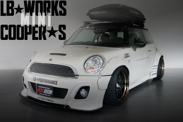 LB-WORKSワイド!WORKSシーカーCX!可変バルブ式エキゾースト!R56型ミニクーパーSの国内中古車を掲載