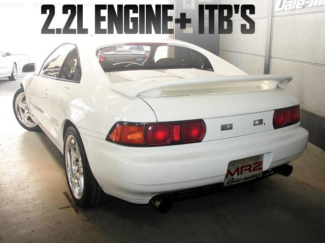 3S-GE改2.2Lエンジン+4連スロットル仕上げ!トヨタMR2・Gリミテッド(3型)の国内中古車を掲載