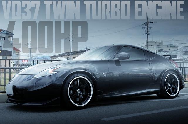 ボズスピード製作VQ37エンジン改GT28RSツインターボ!Z34日産フェアレディZバージョンSTの国内中古車を掲載