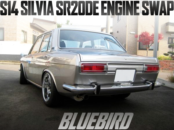 S14シルビア流用!SR20DEエンジン/ATミッション/ECU移植!510日産ブルーバード1600DXの国内中古車を掲載