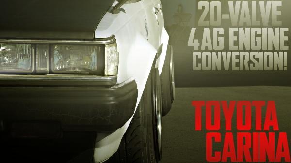 20バルブ4AGエンジン換装!即ドリ仕上げ!トヨタAA63型カリーナの国内中古車を掲載