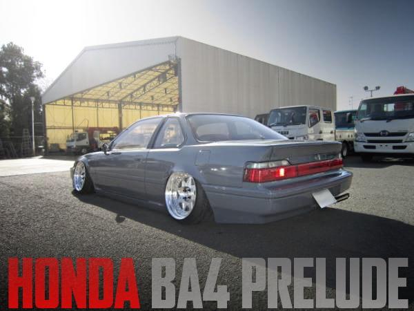 ハイスピードエアサス!着地仕上げ!BA4型ホンダ・プレリュードXXの国内中古車を掲載