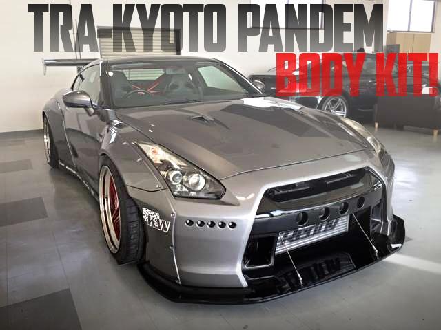 TRA京都PANDEMワイドボディ仕上げ!R35日産GT-Rの国内中古車を掲載