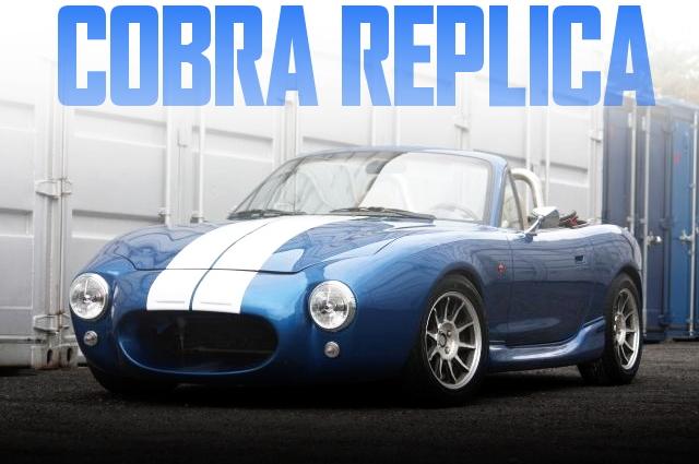 「コブラ」仕上げ!左ハンドルベース!NB系マツダ・ロードスター(MAZDA MX5)の国内中古車を掲載