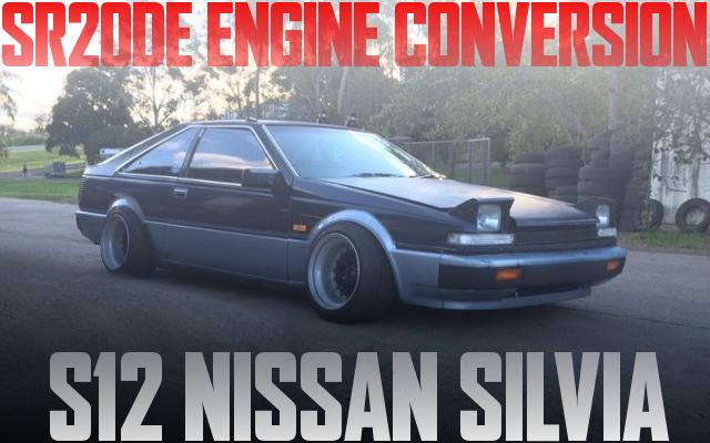 SR20DEエンジン5速マニュアルシフト仕上げ!S12日産シルビアのオーストラリア中古車を掲載