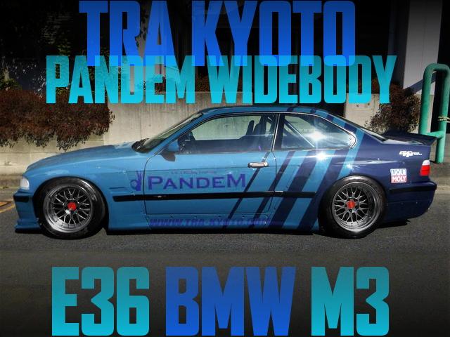 TRA京都PANDEMワイドボディ仕上げ!7点式ロールバー!E36型BMW・M3クーペの国内中古車を掲載