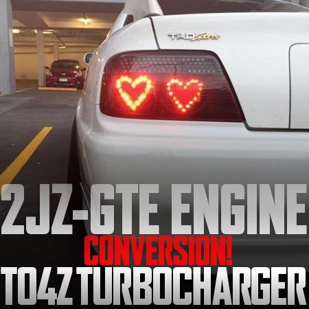600馬力以上!2JZ-GTEエンジン搭載!TO4Zターボチャージャー!JZX100型トヨタ・チェイサーのオーストラリア中古車を掲載