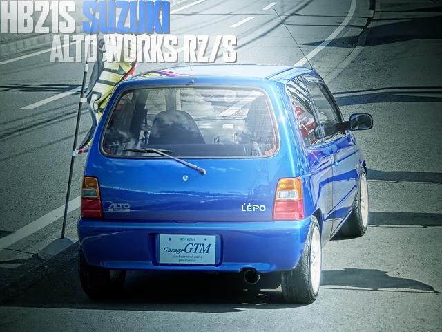 アルトエポ外装フル仕上げ!Eマネージ制御!4代目HB21Sスズキ・アルトワークスRS/Zの国内中古車を掲載